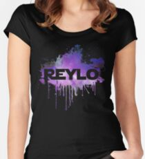 Watercolor Reylo Fitted Scoop T-Shirt