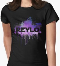 Watercolor Reylo Women's Fitted T-Shirt