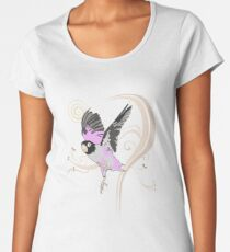 Love Bird (Pattern 2) Women's Premium T-Shirt