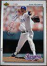 330 - Jose Guzman by Foob's Baseball Cards