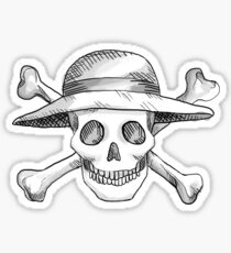 Monkey D. Luffy Jolly Roger Sticker