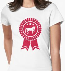 Horse dressage rosette ribbon T-Shirt