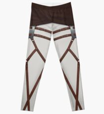 AOT - white pants /w sash  Leggings