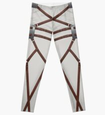 AOT - white pants Leggings