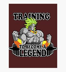 To Become a Legend Photographic Print