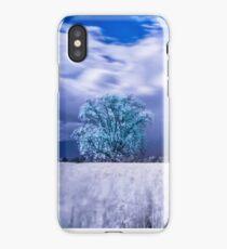 infared tree iPhone Case/Skin