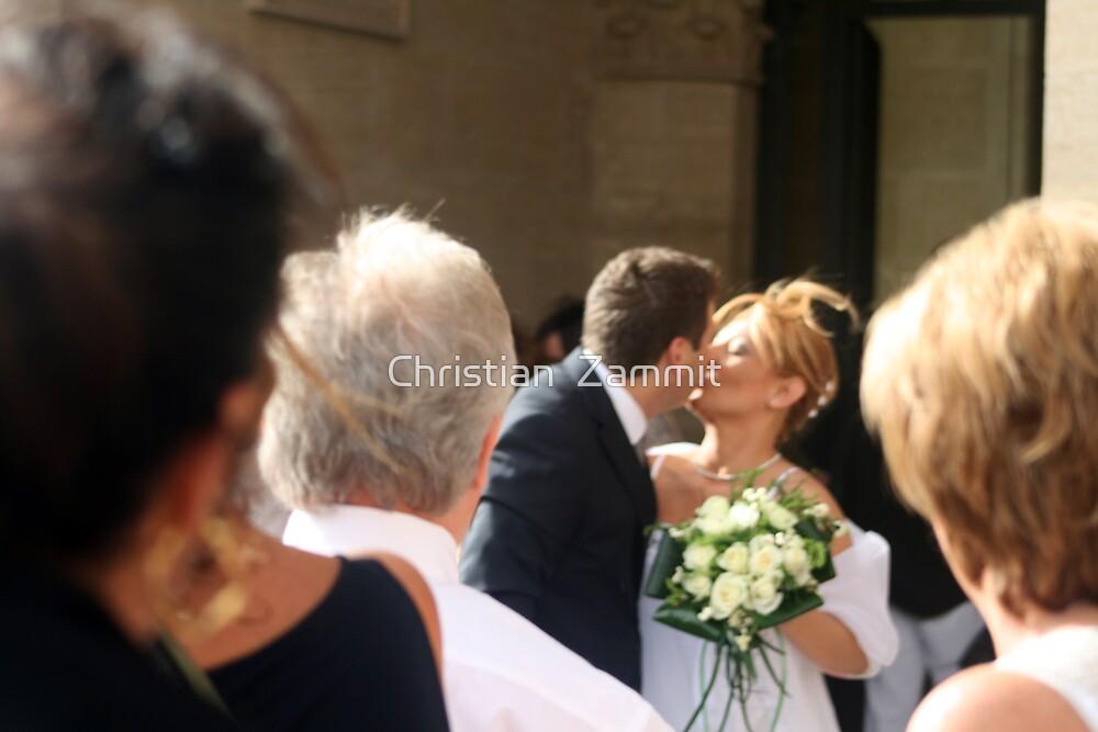 The wedding day by Christian  Zammit