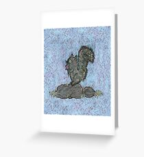 Squirrel by Kaylee Yoffe Greeting Card