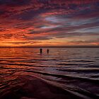 Father and Son at Dawn by matt1960