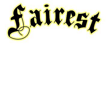 Fairest by faradaysings