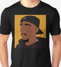 Tupac- Orange Unisex T-Shirt