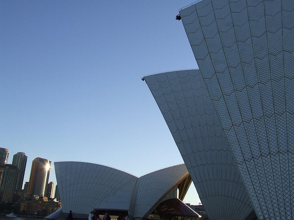 Sydney Opera House, Sydney, Australia by Katherine Wiles