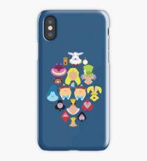 Alice in Wonderland Cast iPhone Case/Skin