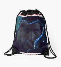 hook love Drawstring Bag