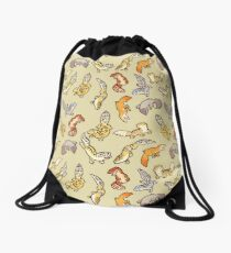 chub gecko babies Drawstring Bag