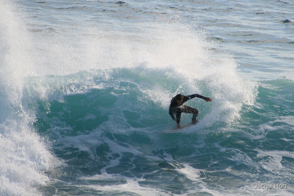 Surfs Up 2 by Jacqui Hort