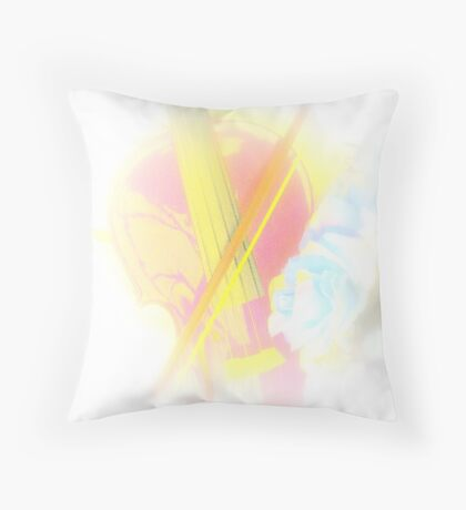 Music Soothes The Soul Throw Pillow