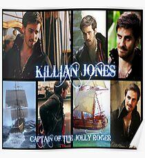 Captain Killian {Hook} Jones Love 1 Poster