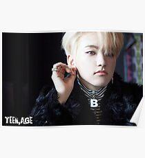 Seventeen (세븐틴) TEEN, AGE - Hoshi (호시) Poster