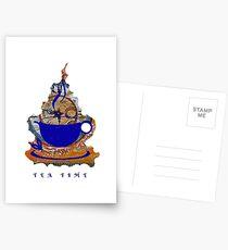 TEA TIME Postcards