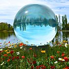 The Crystal Ball of Floriade by Penny Smith