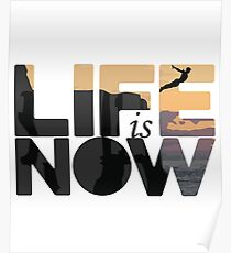 Life Is Now Cliff Diving Poster