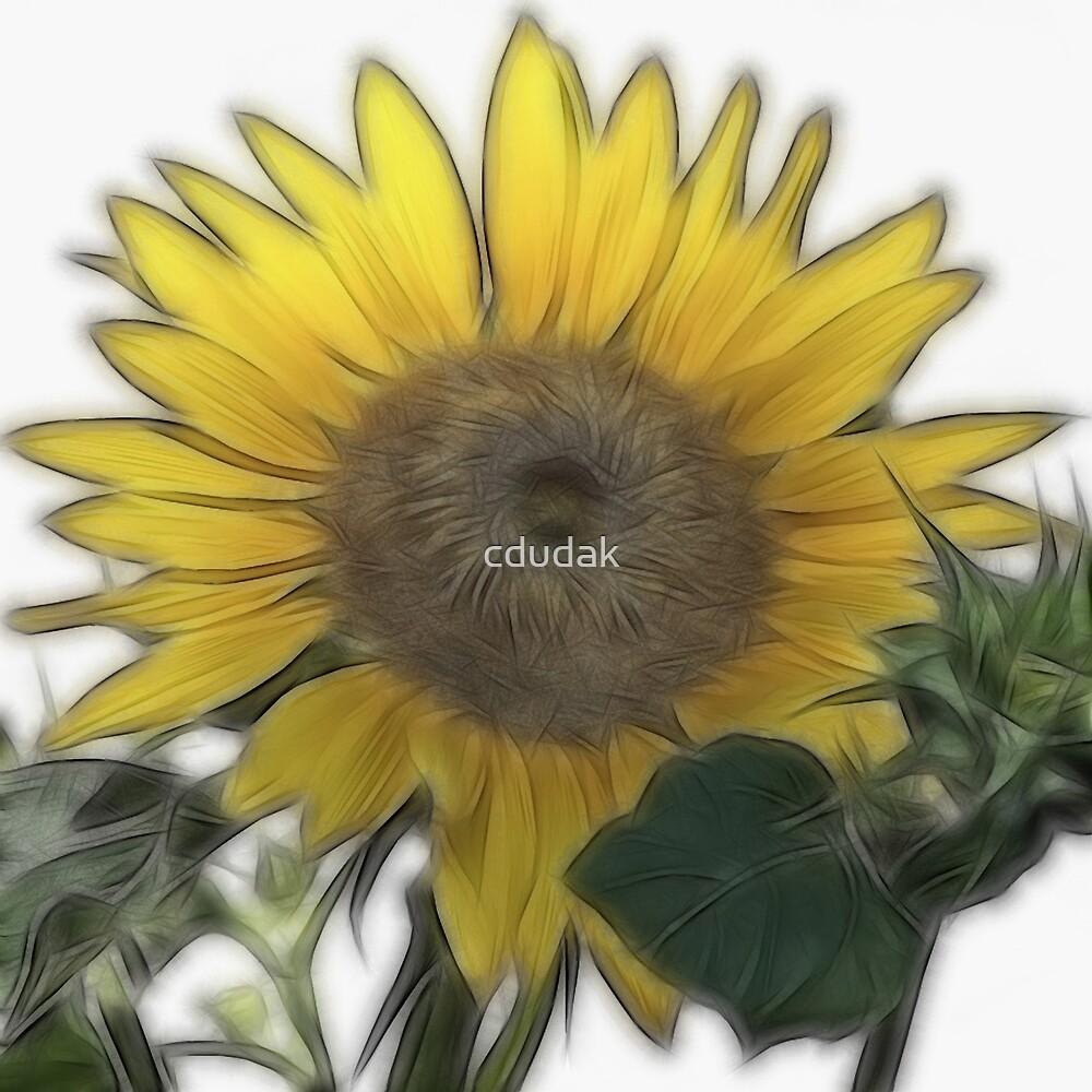 Fractalius Sunflower by cdudak