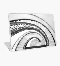 The Arlington Hotel - spiral stair (B&W) Laptop Skin