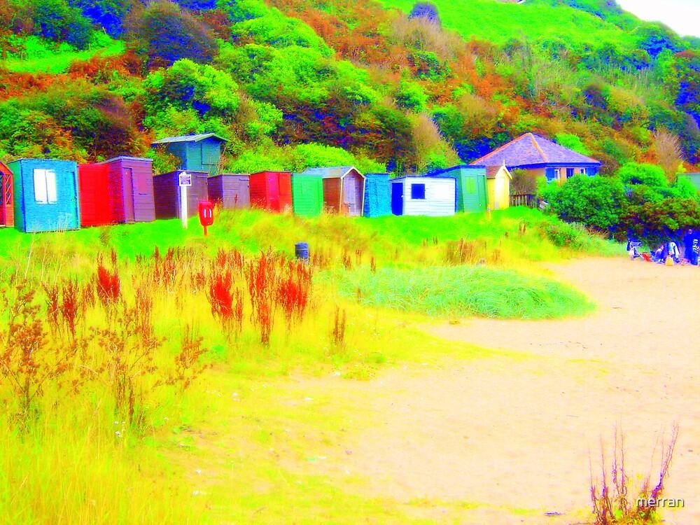 Huts by merran