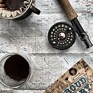 Coffee and Maps Series: PMC & Fly Rod by bikehikebrew