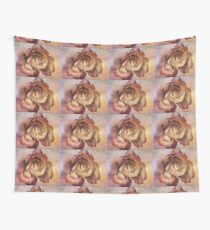 Rose in Time Wall Tapestry