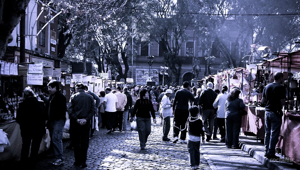 Sunday Markets Buenos Aires by rochelle