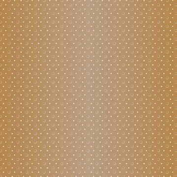 Art Deco, Simple Shapes Pattern 1 [LIGHT GOLD]  by DanielBevis