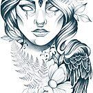 Wald Dame von Emilie Desaunay