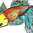 Fish Watercolor... by Rita  H. Ireland