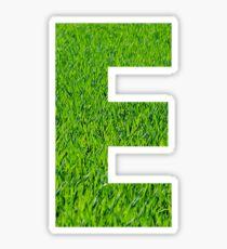 E - Grass Sticker