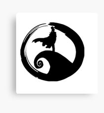 Nightmare before KID (only logo) Canvas Print