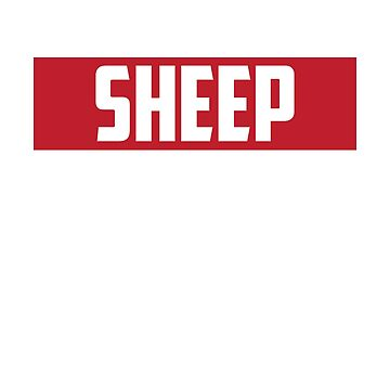Sheep by lucredesign
