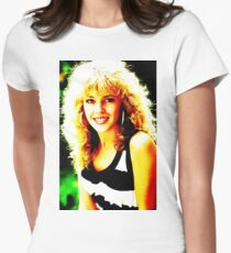 Kylie Minogue as Charlene Women's Fitted T-Shirt