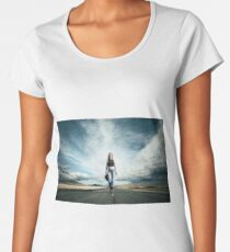 Endless Road To Happiness Women's Premium T-Shirt
