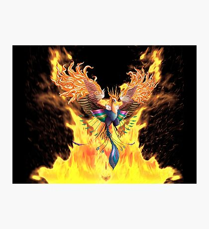 Flames of Life Photographic Print