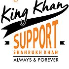 King Khan - Shahrukh Khan by bollywood-tees