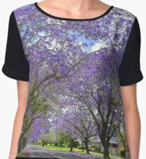 Jacaranda Avenue Women's Chiffon Top