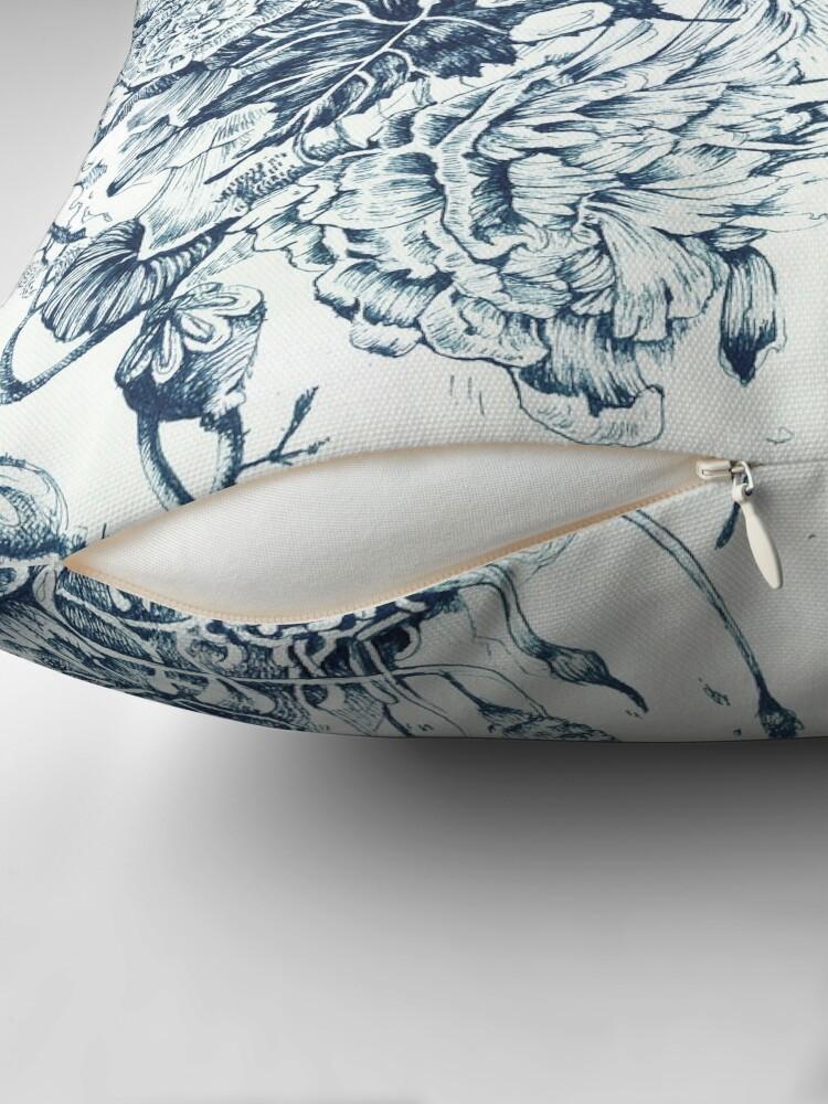 Alternate view of #CreateArtHistory - Floating Garden Throw Pillow
