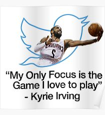 Kyrie Irving the game Poster