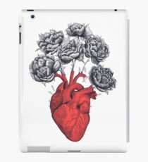 Heart with peonies iPad-Hülle & Skin