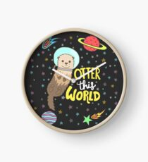 Otter This World Clock