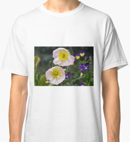 Poppies come in Twos Classic T-Shirt