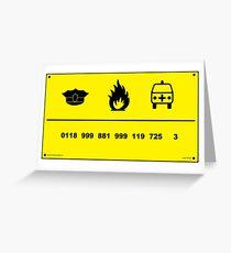0118 999 881 999 725 3 Grußkarte