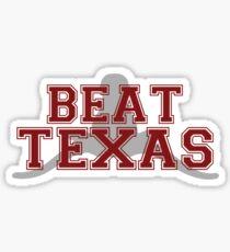 Beat Texas Sticker
